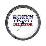 ROBYN for dictator Wall Clock