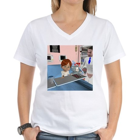 Kevin Sick Women's V-Neck T-Shirt