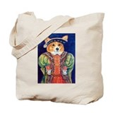 Corgi King Tote Bag
