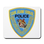 San Juan Indian Police Mousepad