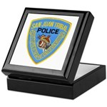 San Juan Indian Police Keepsake Box