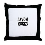 Javon Rocks Throw Pillow