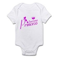 Papua New Guinea princess Infant Bodysuit