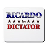 RICARDO for dictator Mousepad