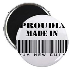 Proudly made in Papua New Gui Magnet