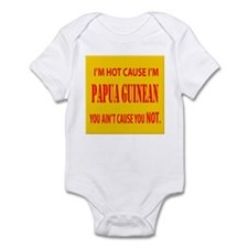 Hot Papua New Guinean Infant Bodysuit