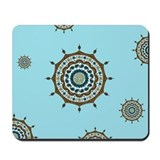 Mehndi Fantasy Copper Mousepad