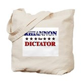 RHIANNON for dictator Tote Bag