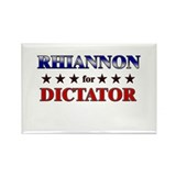 RHIANNON for dictator Rectangle Magnet (10 pack)