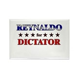REYNALDO for dictator Rectangle Magnet (10 pack)