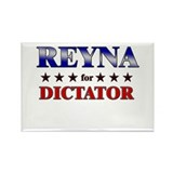 REYNA for dictator Rectangle Magnet (10 pack)