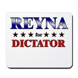 REYNA for dictator Mousepad