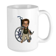 Karlo Broken Right Arm Large Mug