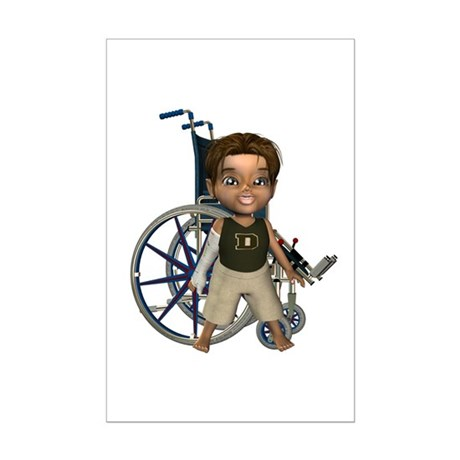 Karlo Broken Rt Arm Mini Poster Autograph Print
