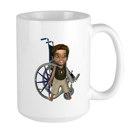 Karlo Broken Left Arm Large Mug