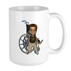 Karlo Broken Left Leg Large Mug