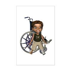 Karlo Broken Left Leg Mini Poster Autograph Print