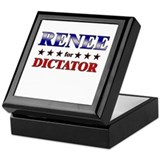 RENEE for dictator Keepsake Box
