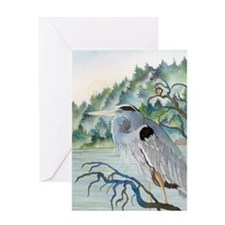 Heron Greeting Card