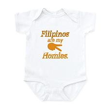 Filipinos are my homies Infant Bodysuit