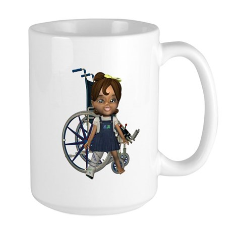 Katrina Broken Rt Leg Large Mug