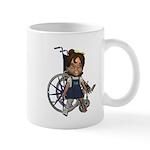 Katrina Broken Rt Leg Mug