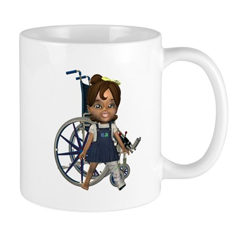 Katrina Broken Left Leg Mug