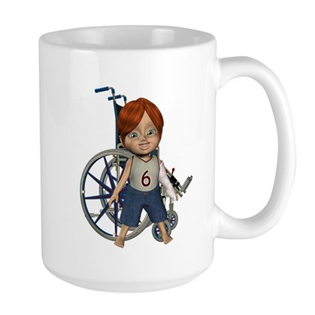 Kevin Broken Left Arm Large Mug