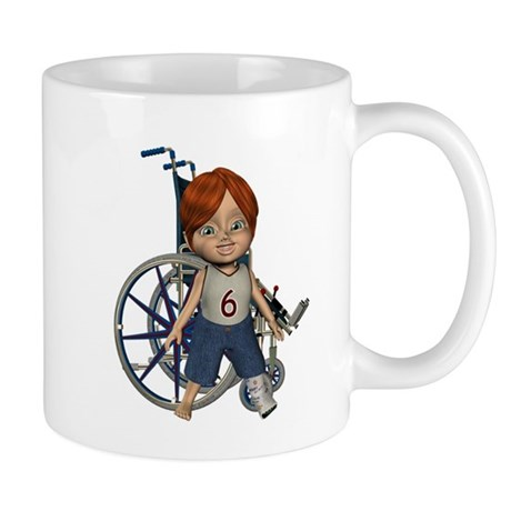Kevin Broken Left Leg Mug