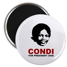 Condi Rice For President Magnet