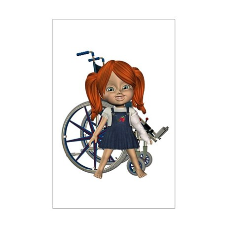 Kit Broken Left Arm Mini Poster Autograph Print