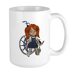 Kit Broken Rt Leg Large Mug