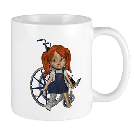 Kit Broken Rt Leg Mug
