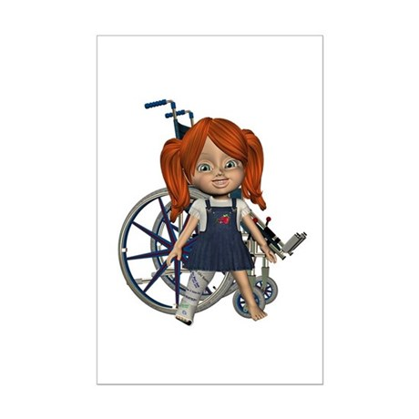 Kit Broken Rt Leg Mini Poster Autograph Print