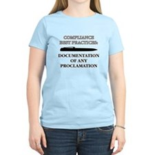 Compliance Documentation T-Shirt