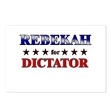 REBEKAH for dictator Postcards (Package of 8)