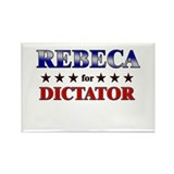 REBECA for dictator Rectangle Magnet (10 pack)