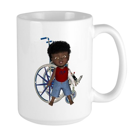 Keith Broken Left Arm Large Mug