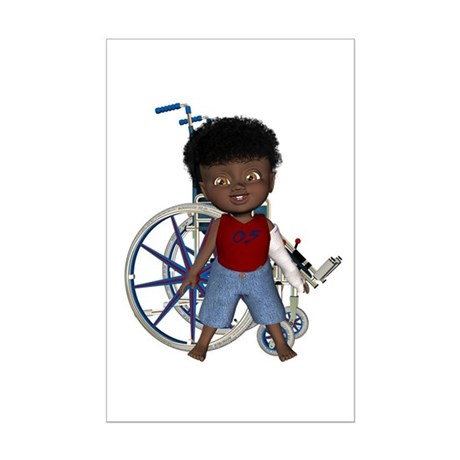 Keith Broken Left Arm Mini Poster Autograph Print