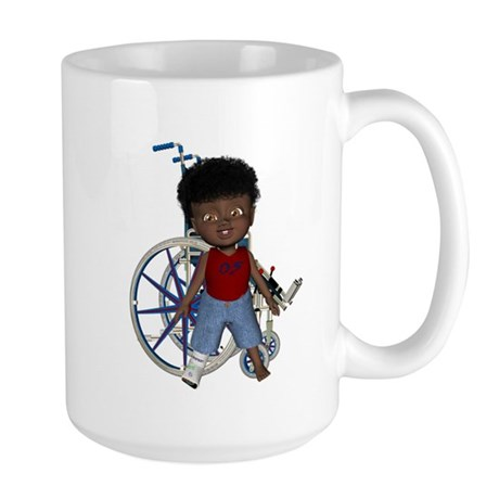 Keith Broken Rt Leg Large Mug