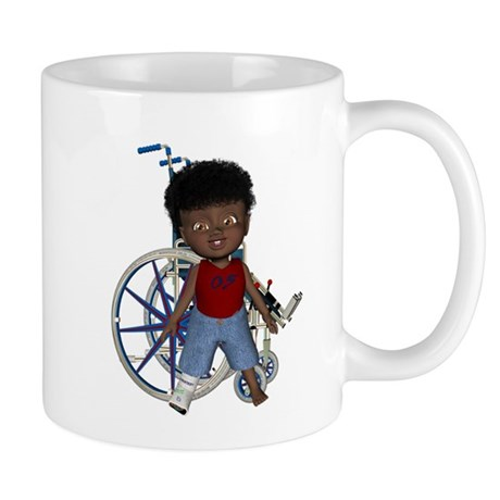 Keith Broken Rt Leg Mug