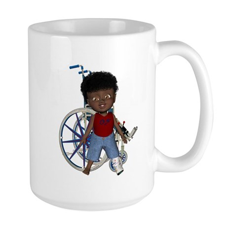 Keith Broken Left Leg Large Mug