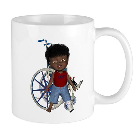 Keith Broken Left Leg Mug