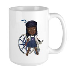 Katy Broken Left Arm Large Mug