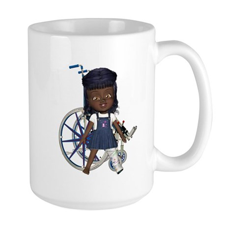 Katy Broken Left Leg Large Mug