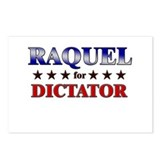 RAQUEL for dictator Postcards (Package of 8)