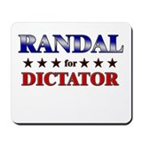 RANDAL for dictator Mousepad