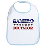 RAMIRO for dictator Bib