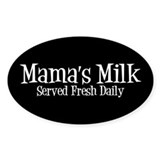 Mama's Milk Decal