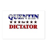 QUENTIN for dictator Postcards (Package of 8)